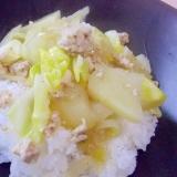 春満載✨春野菜の豚ひき肉炒めごはん✨
