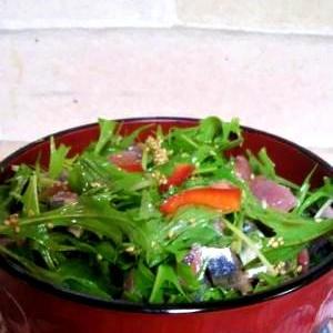 彩り野菜のサンマ丼
