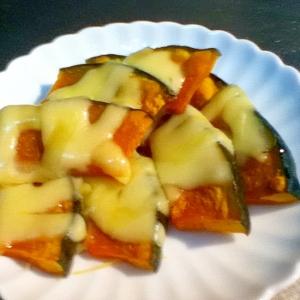 超簡単!かぼちゃとチーズのグリル