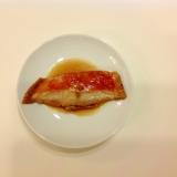 金目鯛の簡単煮つけ。