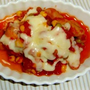 トマト煮をつくる