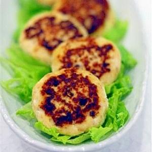 絹ごし豆腐のふんわりハンバーグ