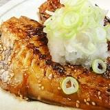 赤魚のゴマ醤油焼き