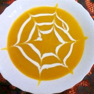 かぼちゃDEハロウィンスープ