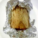 えのき茸のアルミホイル焼き