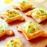 トースターで簡単♪フィンガーフード!枝豆ポテトパイ