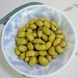 青大豆の塩茹