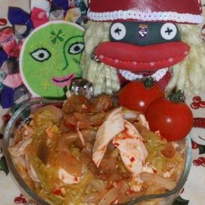白菜&鶏ささみdeチャイニーズ!棒棒鶏風サラダ
