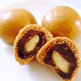 栗入り 利休饅頭 (黒糖まんじゅう)