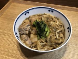 【栄養士おすすめ】鶏肉とキノコのおろし煮