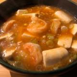 エビチリ豆腐〜無化調