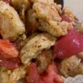 鶏むね肉で★トマトマリネチキン