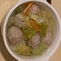 肉団子の生姜スープ