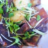 ❤ 茄子&ズッキーニの生姜醤油風味 ❤