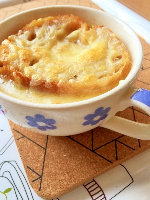 ★本格レストランの味★ オニオングラタンスープ