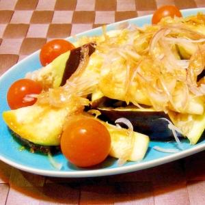 水茄子とみょうがのサラダ
