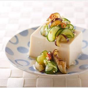 夏の常備菜♪きゅうりとなすのパリパリ甘酢漬け
