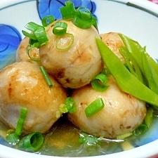 ☆中秋の名月には丸い里芋の煮物がヘルシーで美味♪