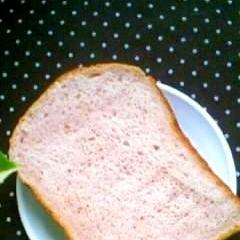 HBで紫イモ食パン