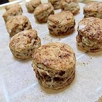 ビニール袋活用で♪ずぼらなマーブルココアクッキー