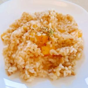 薩摩芋とツナのリゾット