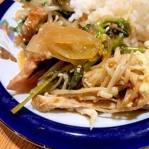 無水鍋で鮭のちゃんちゃん焼き風☆ご飯が進むレシピ