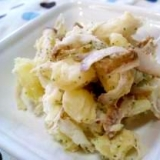 ごぼうのポテトサラダ