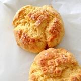 ホットケーキミックス使用の簡単メロンパンクッキー!