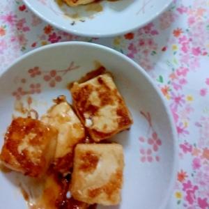 絹ごし豆腐の照りマヨレシピ♪