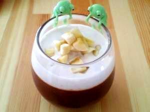 ミキサーで簡単☆豆腐ココアプリン
