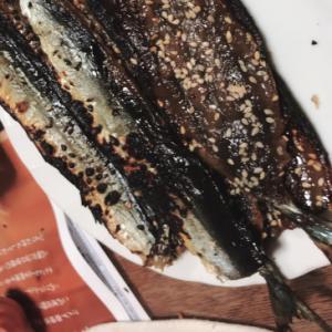 サバ味醂干しの焼き方