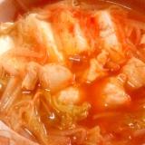 ヘルシー♪鶏むね肉のキムチ鍋