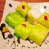 白菜漬け☆漬物寿司