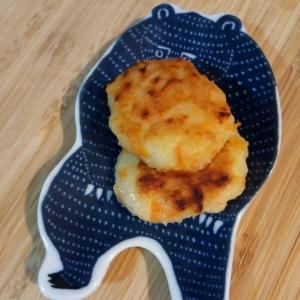 離乳食✳じゃがいもと豆腐のチーズお焼き