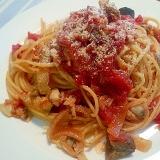 トマト缶で簡単☆ボンゴレ・ロッソ