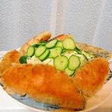 鮭のカツレツ