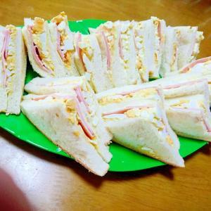 美味しくて大盛りサンドイッチ!