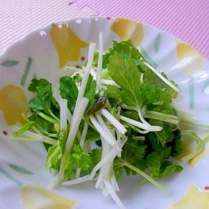 超簡単*セロリ菜の浅漬け*