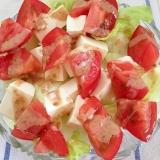 トマトと豆腐のサラダ☆