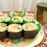 シーチキンの巻き寿司