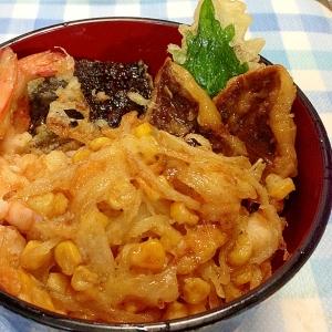 かきあげ丼(天丼)