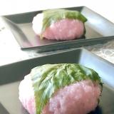 ひな祭り♡餅米で柔らか手作り桜餅