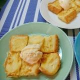 日曜日のフレンチトースト