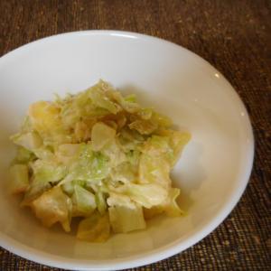 ジャガ芋とキャベツの明太マヨホットサラダ