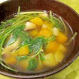 アジアン♪三つ葉のスープ