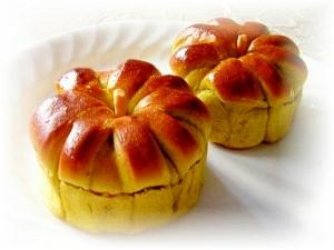 煮物deかぼちゃパン