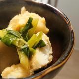 シリコンスチーマーで里芋の煮物
