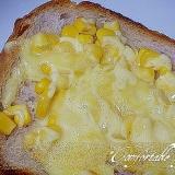 """☆""""マヨコーンのチーズトースト"""