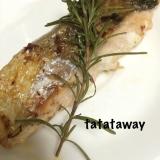 フライパンで生鮭の香草焼き