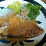 赤魚のキムチ味噌煮★温野菜添え